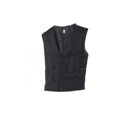 Multi pocket waiter's vest
