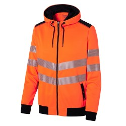 Sweat HV zippé capuche LukLight