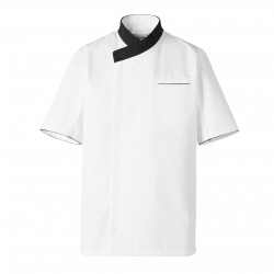 White cooking jacket Exalt'S (short sleeves)