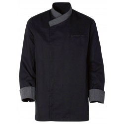 Black cooking jacket Exalt'S
