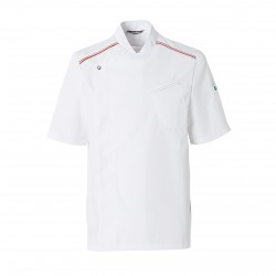 Cooking jacket MEZZO (short sleeves)