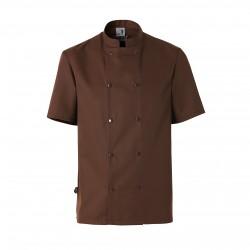 Brown jacket (short sleeves)