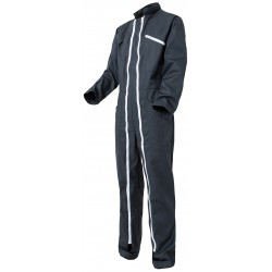 Double zip coverall