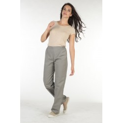 Pantalons/pantacourts femme VICTOR Taupe