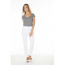 Pantalons/pantacourts femme THEO Blanc