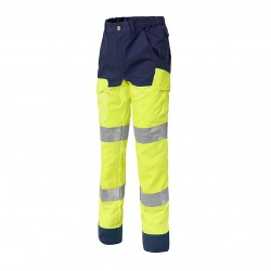 Luklight trousers with knee pads