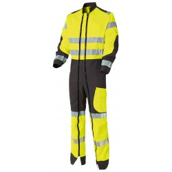 Luklight double zip coverall