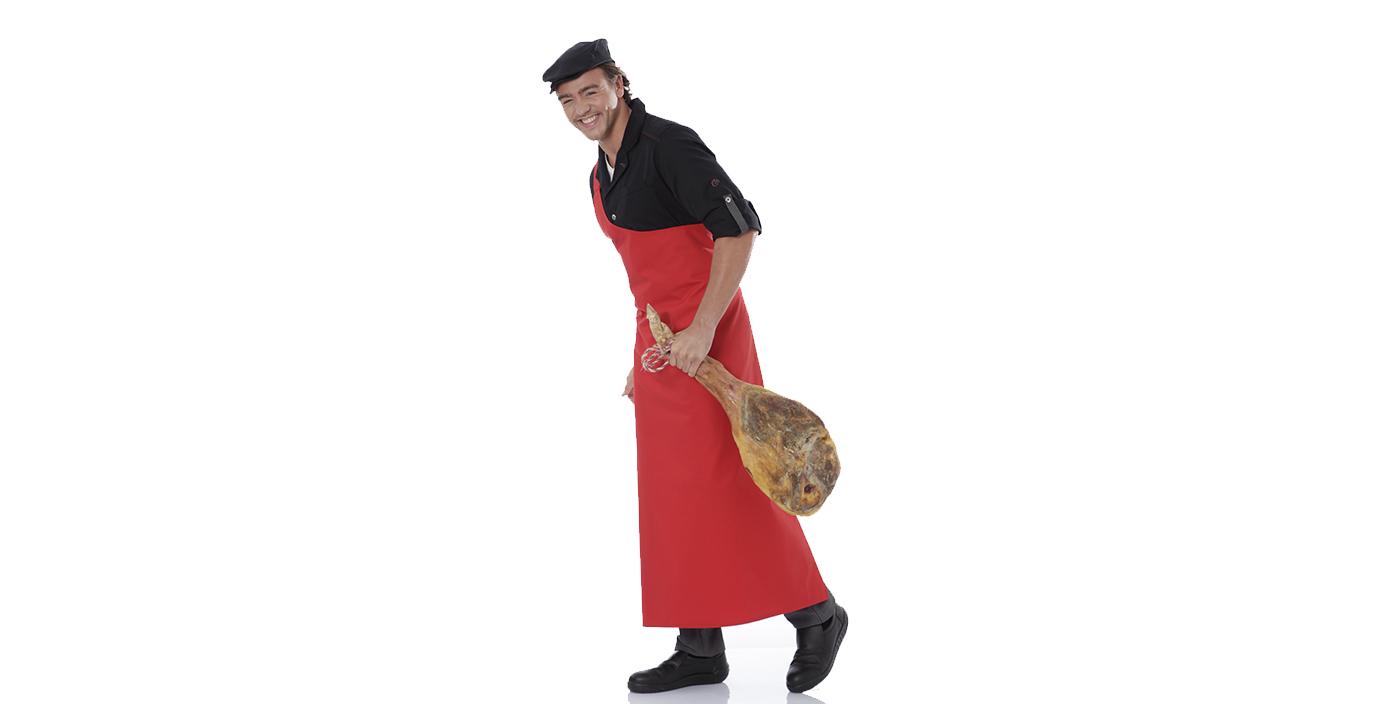 vetements de travail pour bouchers